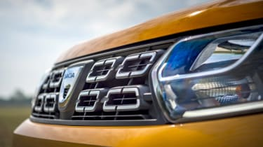 2018 Dacia Duster grille