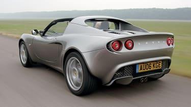 Lotus Elise rear