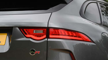 Jaguar F-Pace SUV rear lights
