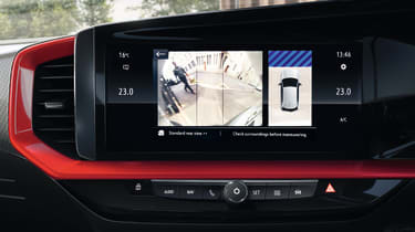 2021 Vauxhall Mokka SRi - infotainment screen