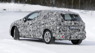 BMW 2 Series Active Tourer prototype - rear/side view