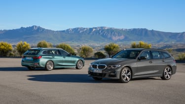 2019 BMW 3 Series Touring - static M Sport and SE