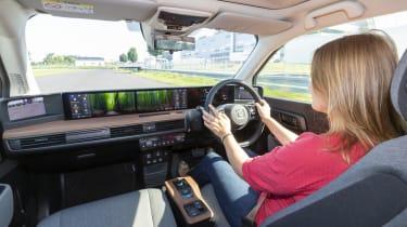 2019 Honda e prototype - interior dynamic