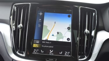 Volvo V60 estate sat-nav