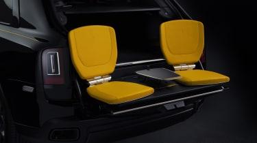 Rolls-Royce Cullinan Black Badge event seats