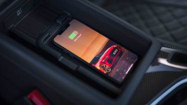 Audi S5 Coupe wireless charging