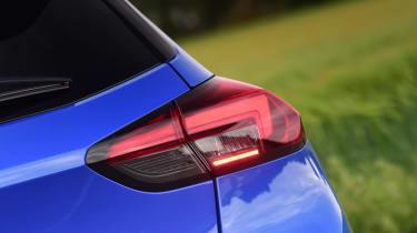 Vauxhall Corsa-e hatchback rear lights