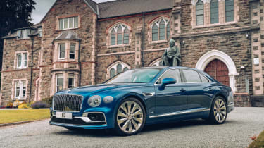 Bentley Continental Flying Spur saloon front 3/4 static