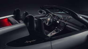 Porsche 718 Boxter Spyder - interior