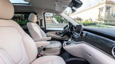 Mercedes V-Class MPV front seats