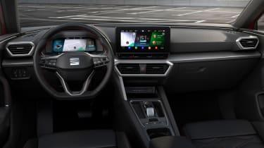 2020 SEAT Leon interior