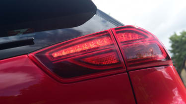 Kia Niro SUV rear lights