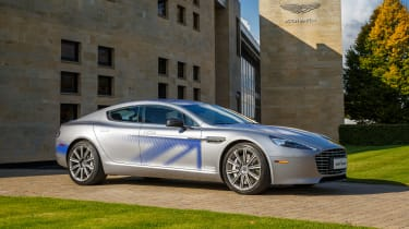When it goes on sale in 2019, the Aston Martin RapidE should offer up a 0-60mph time of around three seconds