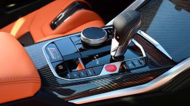 BMW M4 Coupe centre console