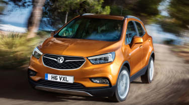 Buyers will be able to order the Mokka X in several new colours, including Lava Red and Amber Orange.