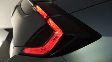 LED illumination will be widely used in the new Honda Civic