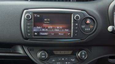 Toyota Yaris screen
