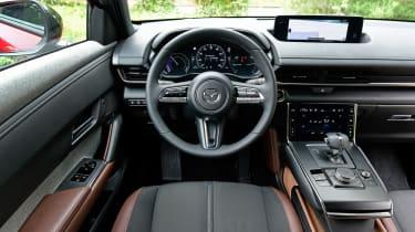 Mazda MX-30 SUV interior