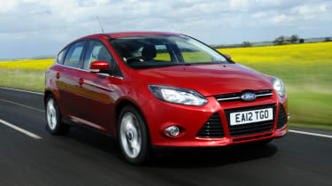 Ford Focus - front 3/4 view