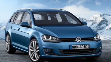 New Volkswagen Golf Estate