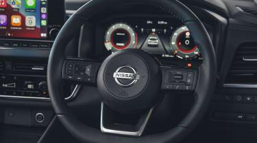 2021 Nissan Qashqai steering wheel