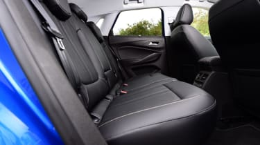 Space in the outer rear seats is excellent