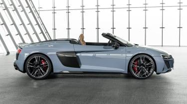 2019 Audi R8 Spyder side
