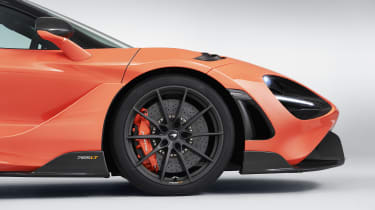 McLaren 765LT front end - side view
