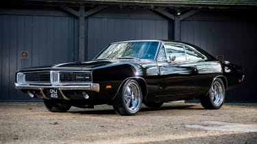 This Bullitt-inspired Dodge Charger was previously owned by Jamiroquai frontman Jay Kay and Hollywood star Bruce Willis.