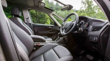 The Zafira Tourer has a comfortable driving position with a great view out