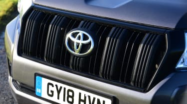 Toyota Land Cruiser Utility grille