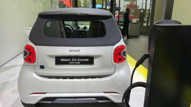 Smart EQ ForTwo rear end