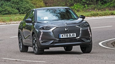 DS 3 Crossback - front 3/4