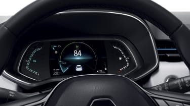 2020 Renault Clio E-Tech - Digital dash display