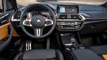 BMW X3 M Competition SUV interior