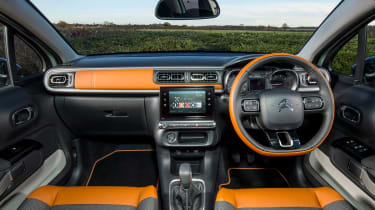 Citroen C3 Flair hatchback interior