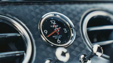 Bentley Continental GT Speed clock