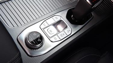 SsangYong Rexton SUV centre console