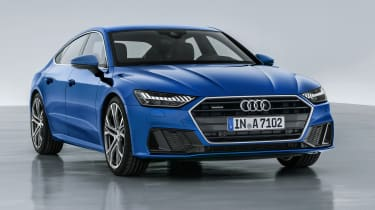 The Audi A7 is sleek, luxurious and packed with high-tech features