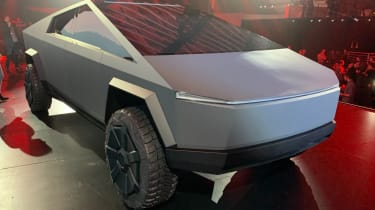 Tesla Cybertruck - front 3/4 view