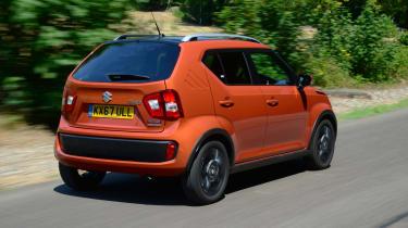 Suzuki Ignis - rear 3/4 dynamic