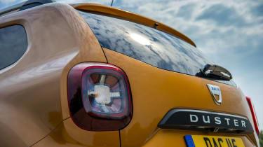 Dacia Duster 2018 light