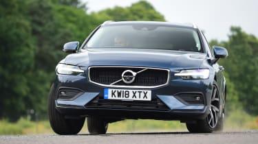 Volvo V60 estate front cornering
