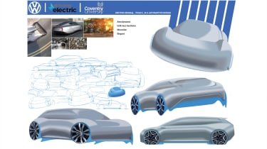 Kritish Devaraj – Kritish created a vehicle with strong aerodynamic performance, an elegant aesthetic and muscularity.