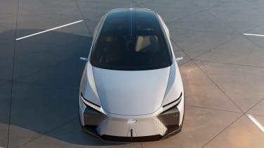 Lexus LF-Z concept - front high view