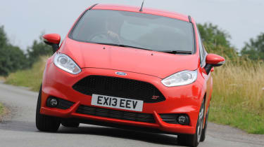 Ford Fiesta ST 2013 front cornering