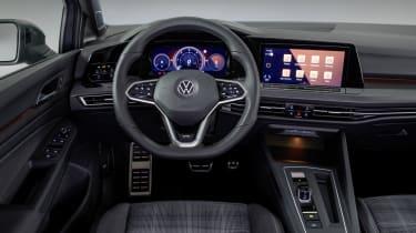 2020 Volkswagen Golf GTD - interior