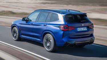 2021 BMW X3 M - rear 3/4 dynamic