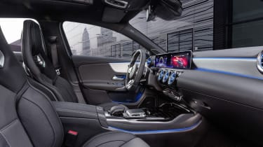 Mercedes-AMG A 35 Saloon interior side