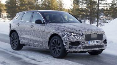 Jaguar F-Pace facelift spotted testing